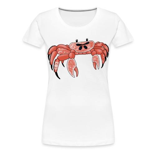 Joe the tattooed crab - Women's Premium T-Shirt