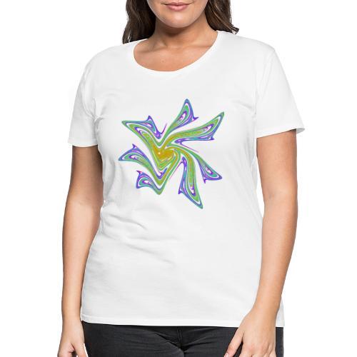 Seestern Seeigel Meerestiere Ozean Chaos 2721grbw - Frauen Premium T-Shirt