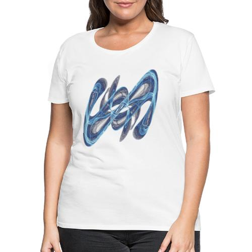 Secret sign from chaos theory 7545 ice - Women's Premium T-Shirt
