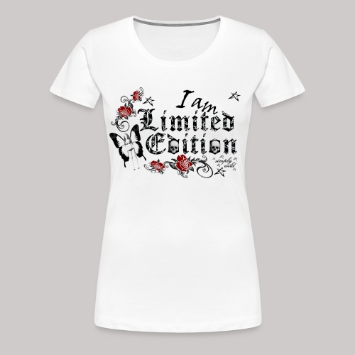 simply wild limited Edition on white - Frauen Premium T-Shirt