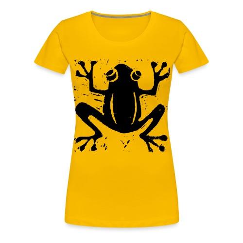 Crafty Wotnots Tree Frog - Women's Premium T-Shirt