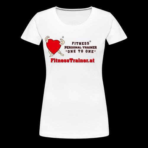 FitnessTrainer.at - Frauen Premium T-Shirt