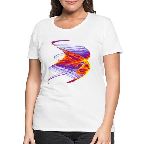 Firestorm Fire Roller Flame Sea Fire Column 12771 - Women's Premium T-Shirt