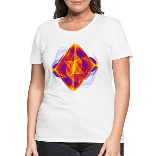 Watercolor art graphic painting picture chaos 6769bry - Women's Premium T-Shirt