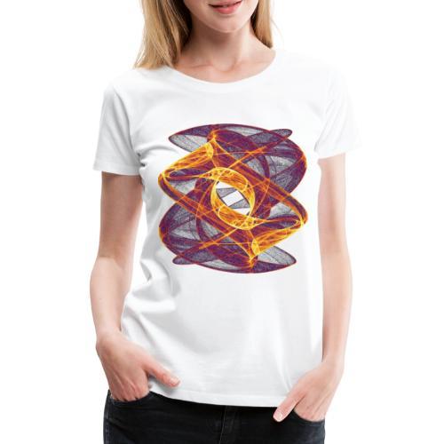 Eye in Inferno 7247i - Women's Premium T-Shirt