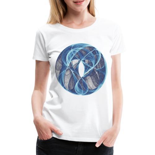 Winde des Herzens 10051ice - Frauen Premium T-Shirt