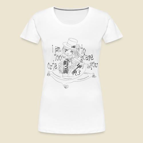 Steampunk girl - T-shirt Premium Femme