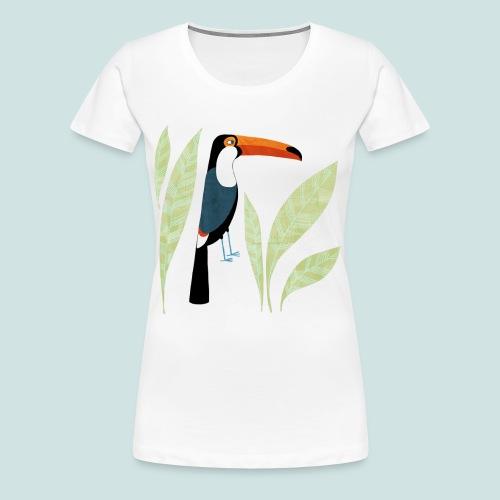 Toucan - Women's Premium T-Shirt