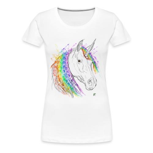 Unicorno - Maglietta Premium da donna