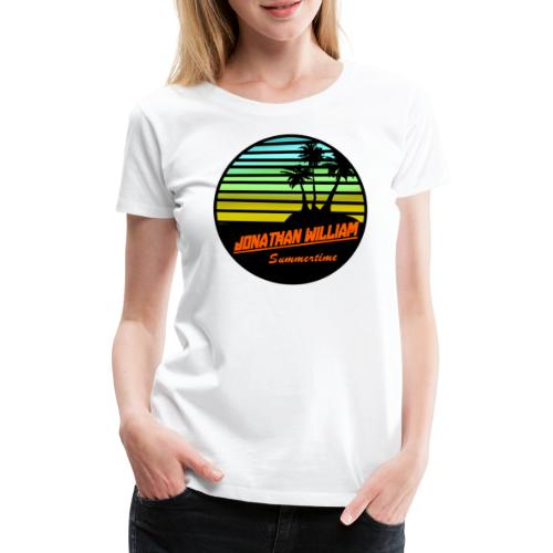 Jonathan William Summertime - Women's Premium T-Shirt