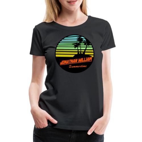 Jonathan William Summertime - Women's Premium T-Shirt