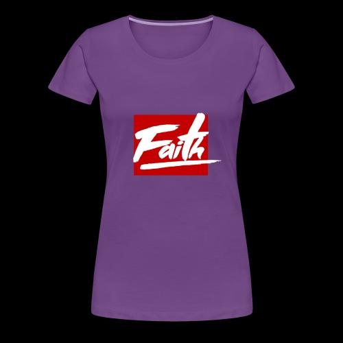 Faith Red - Camiseta premium mujer