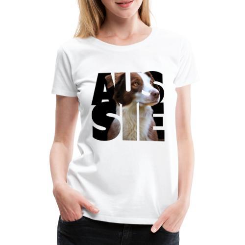 Aussie II - Naisten premium t-paita