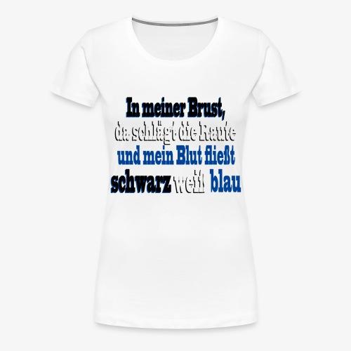 rautenherz01 - Frauen Premium T-Shirt