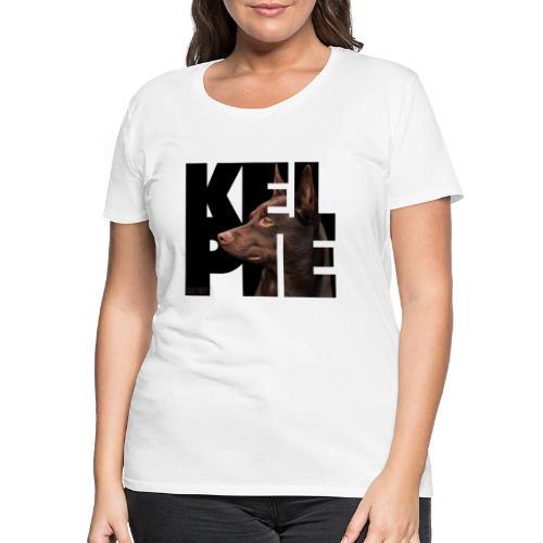 Kelpie II - Naisten premium t-paita