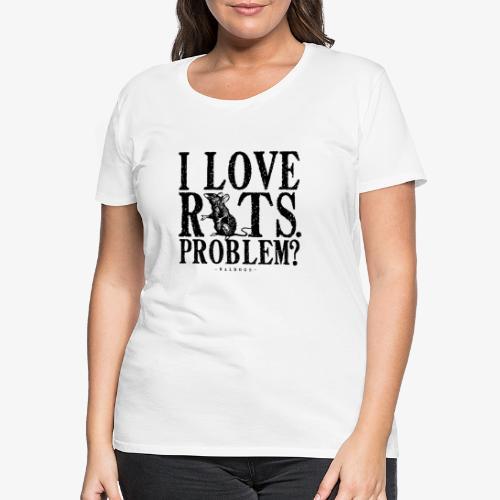 Rats Problem 7 - Naisten premium t-paita