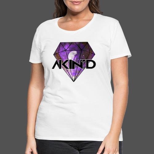 DiamondKing - T-shirt Premium Femme