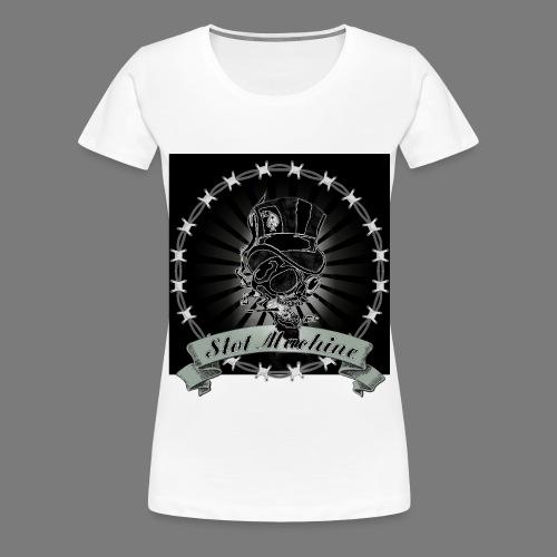 Smoking Gambler - Frauen Premium T-Shirt