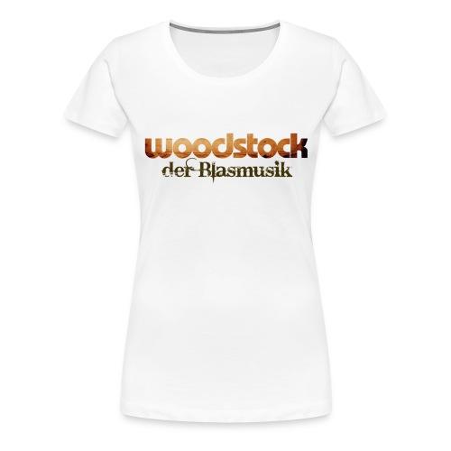woodstock_logo_4c - Frauen Premium T-Shirt