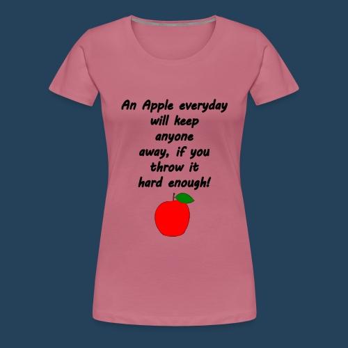 Apple Doctor - Frauen Premium T-Shirt