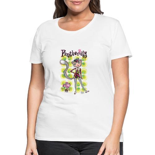 Pantherilly - Beat - Maglietta Premium da donna
