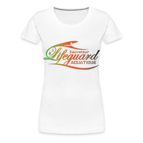 lifeguard multicolor - T-shirt Premium Femme