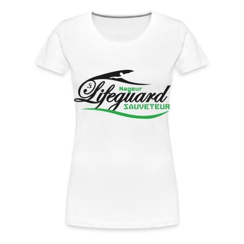 lifeguard NS - T-shirt Premium Femme