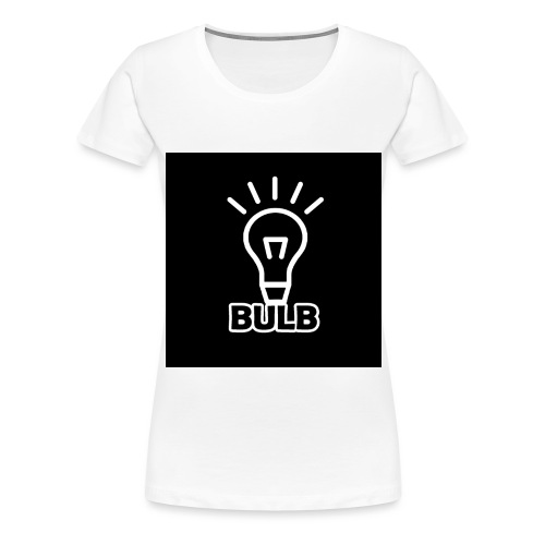 bulb button - Vrouwen Premium T-shirt