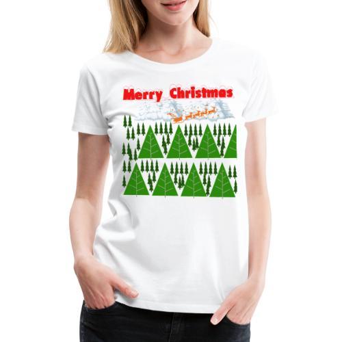 christmas time. Tempo di Natale - Maglietta Premium da donna