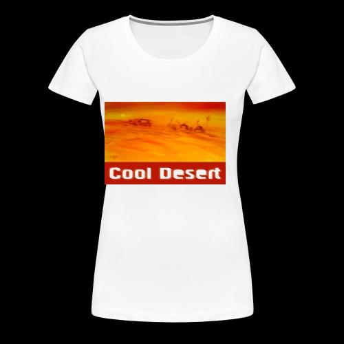 Cool Desert Sahara Motiv - Frauen Premium T-Shirt