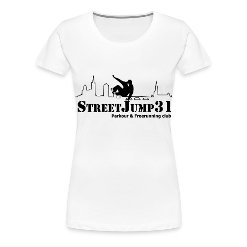 StreetJump31 - Parkour & Freerunning Club - T-shirt Premium Femme