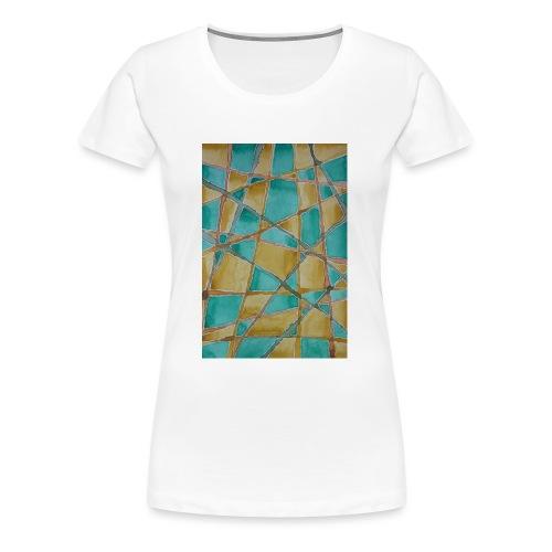 Watercolour Art painting - Women's Premium T-Shirt