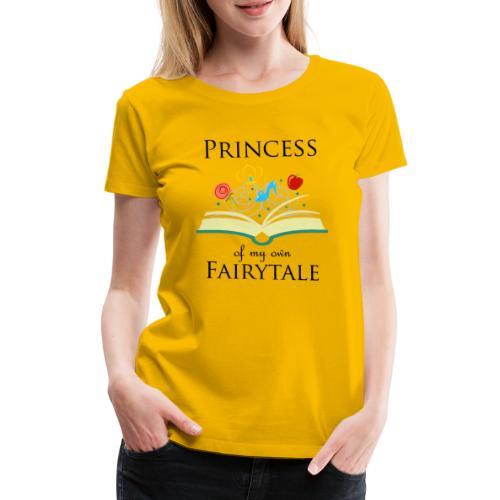 Princess of my own fairytale - Black - Women's Premium T-Shirt
