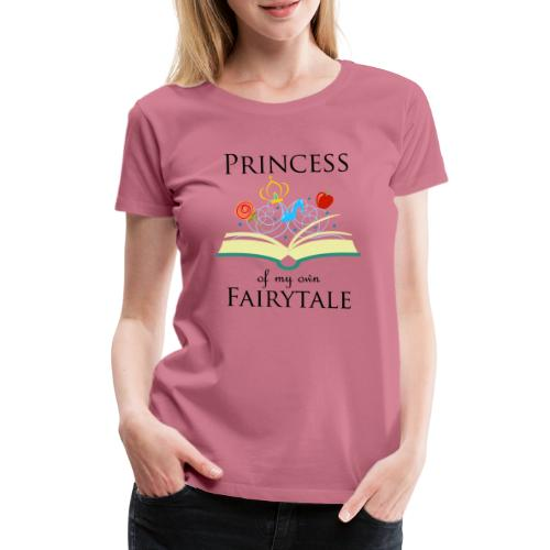 Princess of my own fairytale - Black - Women's Premium T-Shirt