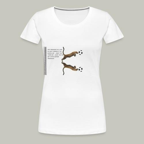 panthère - T-shirt Premium Femme
