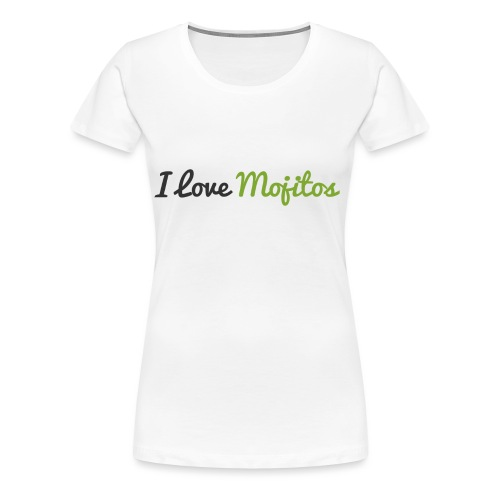 Tee Shirt Femme - IloveMojitos - T-shirt Premium Femme