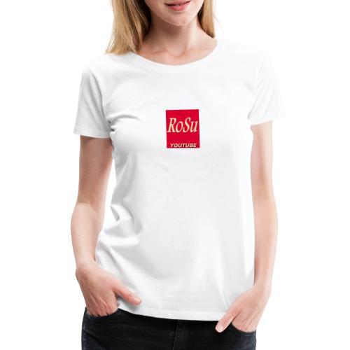 Få et personligt præg fra din yndlings YouTuber - Dame premium T-shirt