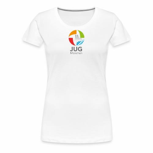 JUG Logo (color) - Frauen Premium T-Shirt