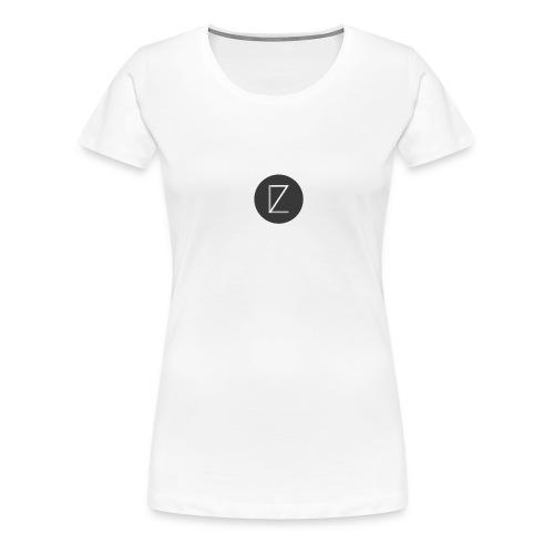 T-Shirt LZ Original Bleu - T-shirt Premium Femme