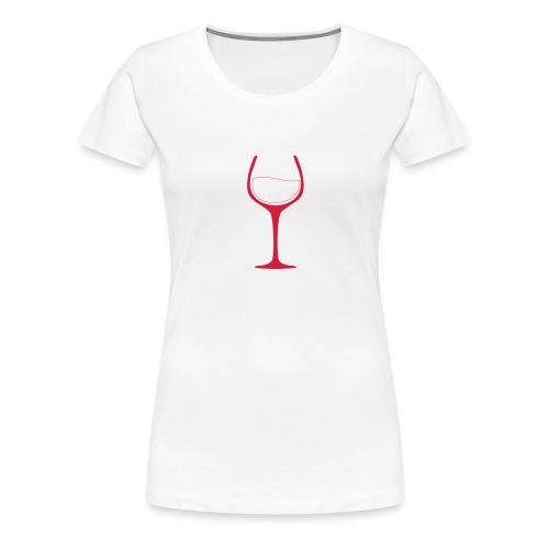 Nur noch ein Glas - Frauen Premium T-Shirt