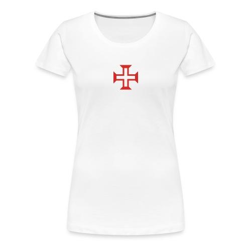 2000px OrderOfCristCross svg png - T-shirt Premium Femme