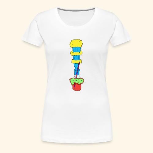 Flaschen Pop - Frauen Premium T-Shirt