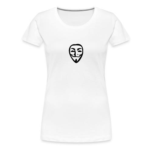 anonymous - T-shirt Premium Femme