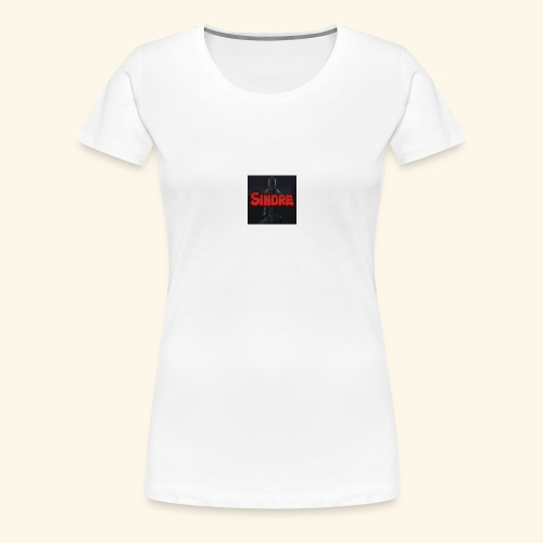 den nyeste logoen min - Premium T-skjorte for kvinner