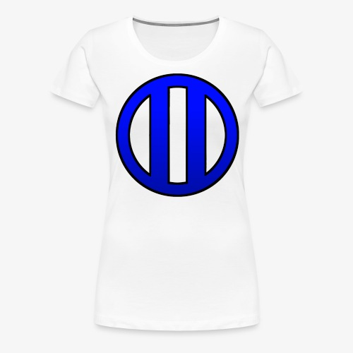 lycoslogoblue - Camiseta premium mujer