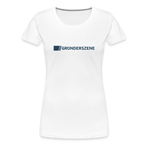 Gruenderszene_Logo_CMYK_4 - Frauen Premium T-Shirt