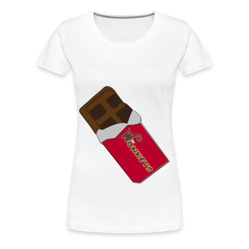 The Wonkeys Chocolate Edition - Maglietta Premium da donna