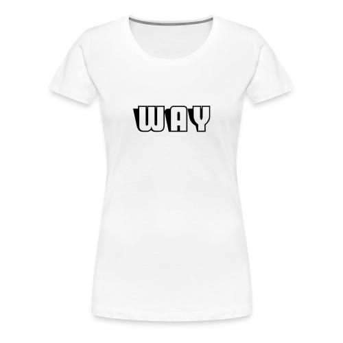 Way semplice - Maglietta Premium da donna
