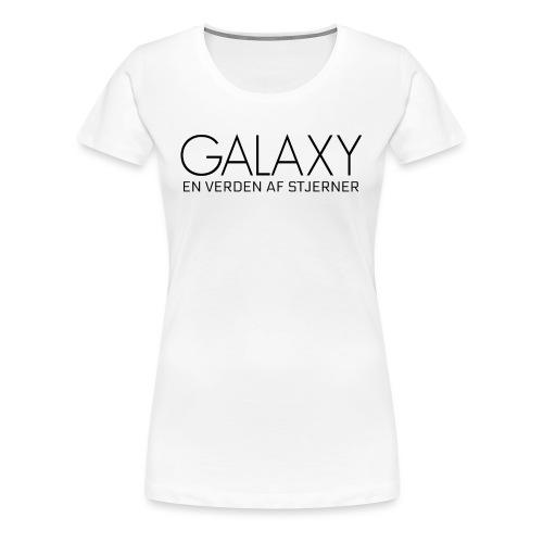 En verden af stjerner - Dame premium T-shirt