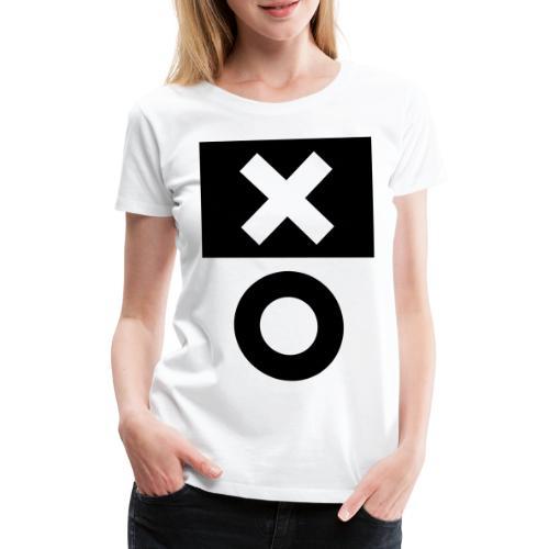 XO White - Frauen Premium T-Shirt